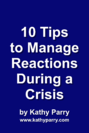 10 Tips to Manage Reactions Cover