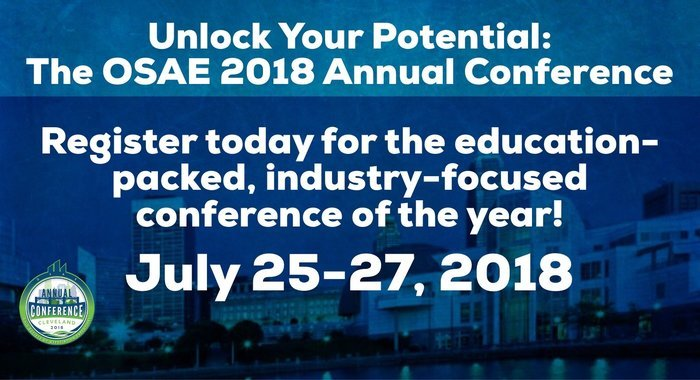 Register for the 2018 OSAE Annual Conference