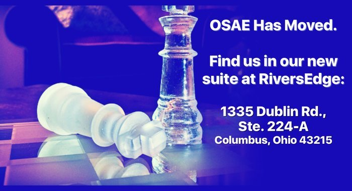 OSAE Has Relocated Suites