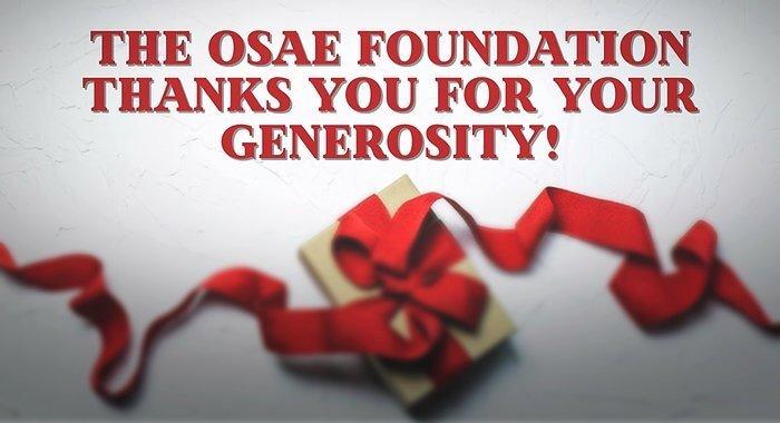 OSAEF Thanks You