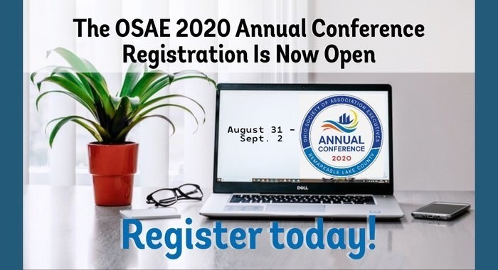 OSAE 2020 Annual Conference Registration is Now Open