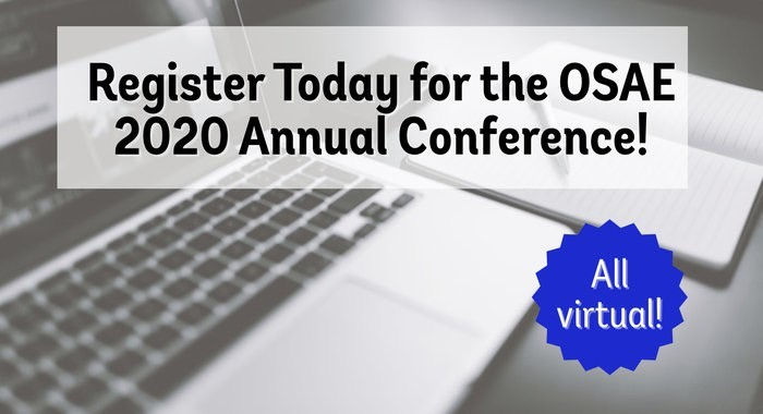 OSAE 2020 Annual Conference - Register Now