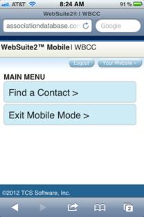 Introducing WebSuite2™ Mobile
